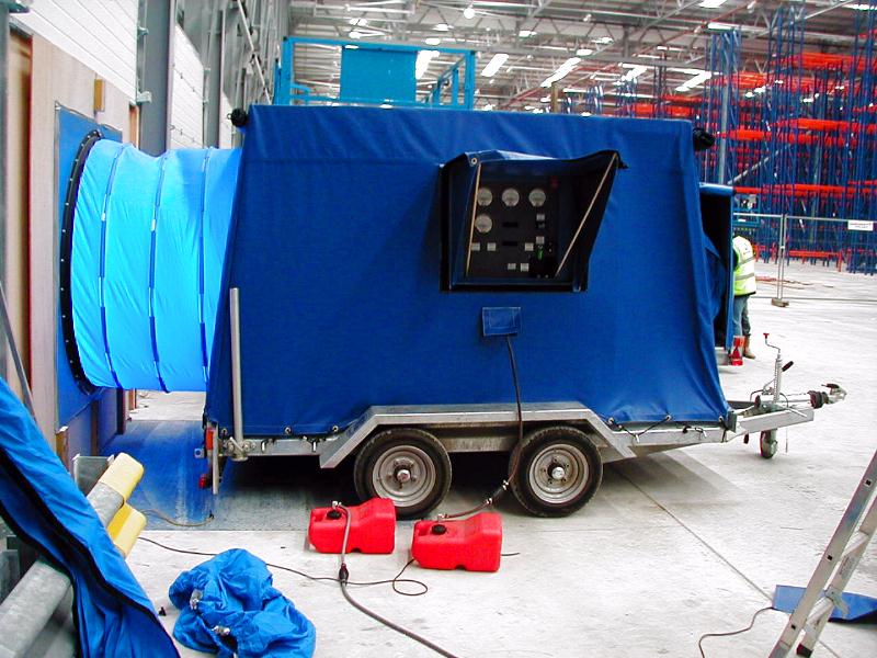Infiltec G54 Mobile Calibrated Gasolineu003dPowered Large Building Airtightness Test Fan your price $16500 & INFILTEC: G54 Mobile Fan for Airtightness Testing of Large Buildings ...