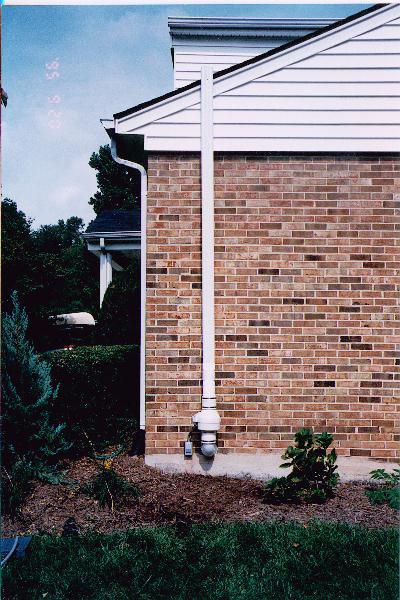 Infiltec Radon Mitigation System Photographs Radon Gas