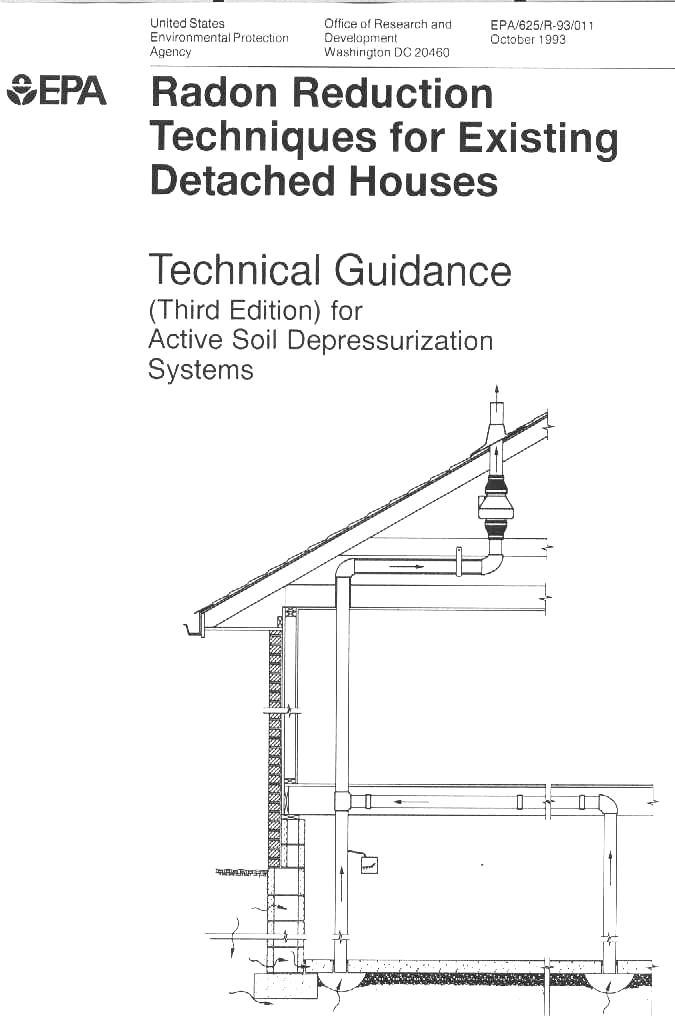infiltec radon gas mitigation system drawings rh infiltec com
